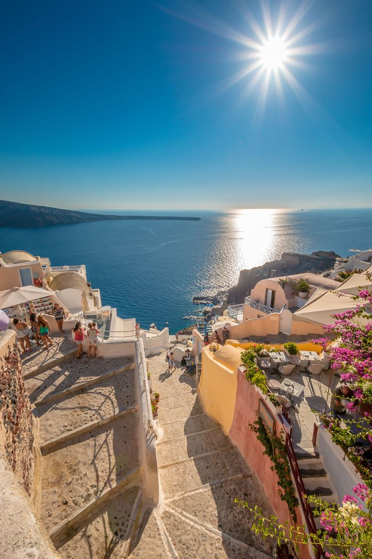 Steps to Ammoudi, Oia, Santorini                                                                                                                                                                                 More