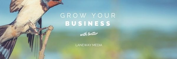 Create your twitter business page