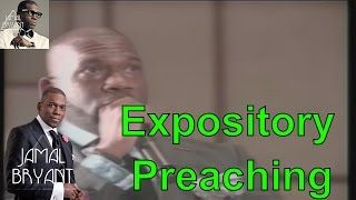Pastor Jamal Bryant Minitries Sermons 2016 - Dr Jamal Bryant FR3D Expository Preaching 2014