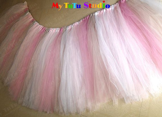 Sugar And Spice Party Tulle Table TuTu Skirt For By MyTuTuStudio