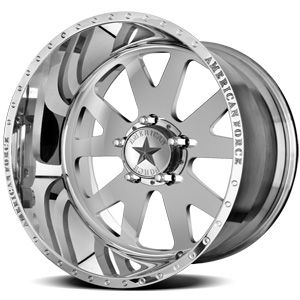American Force Baus SS5 Polished Custom Truck Wheels & Rims