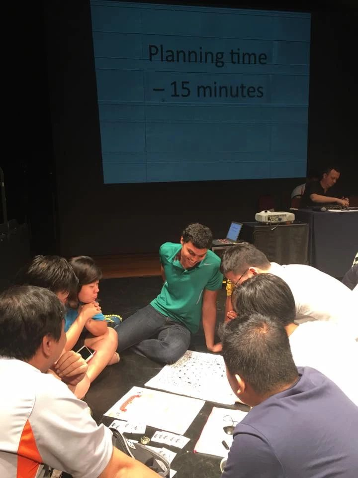 Photo: Getting teams to plan, communicate and think on actions, great day of team work leadership. #teambuildingsingapore http://teambuildingsingapore.com.sg/indoor-events