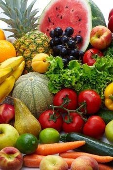 Fruits:  Eat 2 to 4 servings a day from this list.    •1 medium apple, peach, pear, or orange      •1/2 cup applesauce or canned fruit      •15 grapes      •1 kiwi fruit      •1-1/4 cup melon or berries      •1/2 cup mild juices, such as apple, grape, or pear      •1 small banana      •Avoid the following drinks if they cause pain or discomfort:      •Orange or grapefruit juices      •Lemonade or limeade