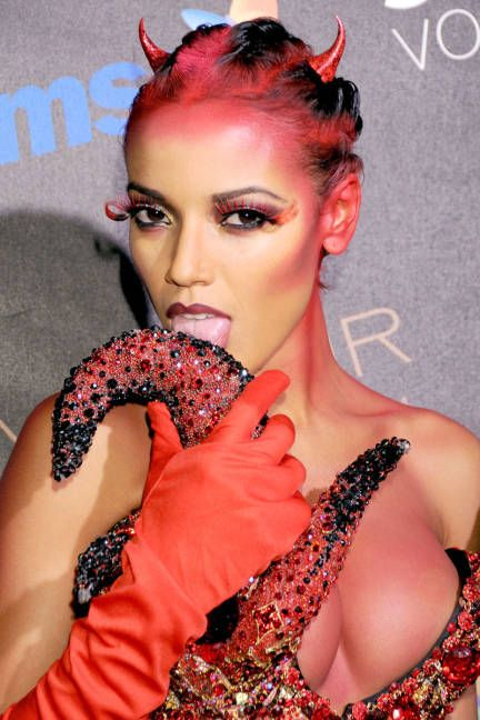 1000 Images About Satanic Fashion Style On Pinterest Devil Costume Wigs And Gothic