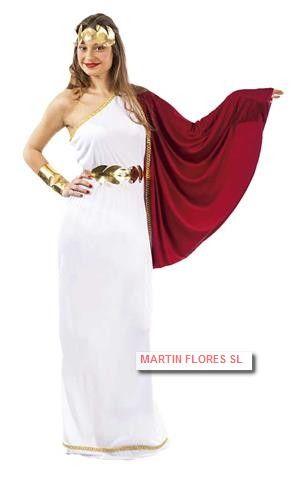 Disfraz romana mujer patricia para cabalgata de reyes en www.martinfloressl.es #tiendaonline golosinas y disfraces en #sevilla