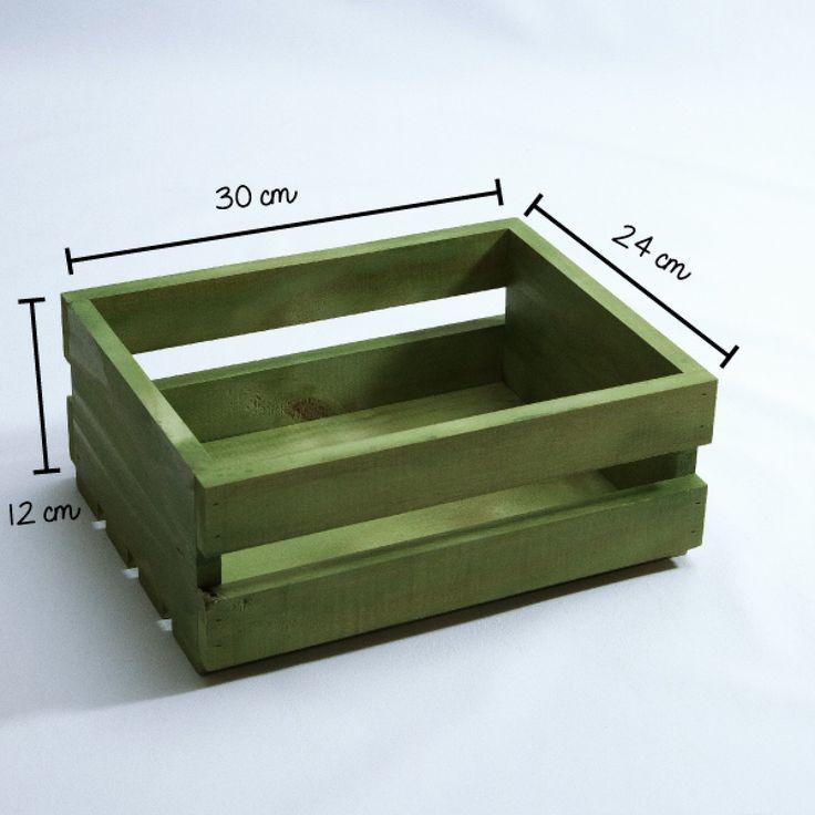 Caixotinho Verde Oliva! - Tadah! Design