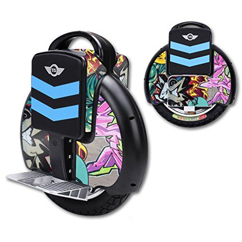 MightySkins Protective Vinyl Skin Decal for TGF3 Self Balancing one wheel electric unicycle scooter wrap cover sticker Graffiti Wild Style ** Details can be found by clicking on the image.