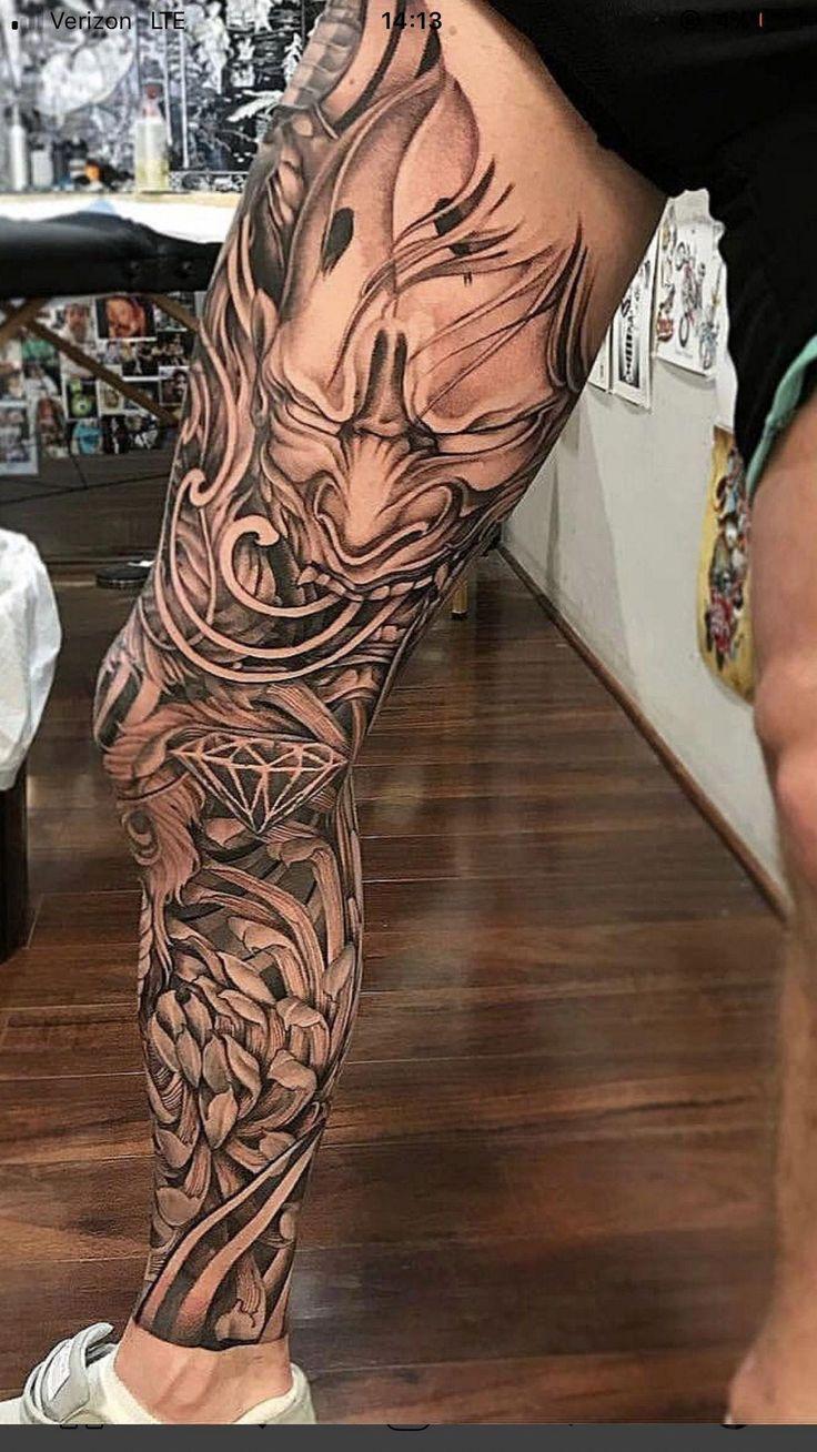 tattoo sleeve leg tattoos half japanese designs calf guys dragon arm cool guy follow female legs tattos club tattooed japenese