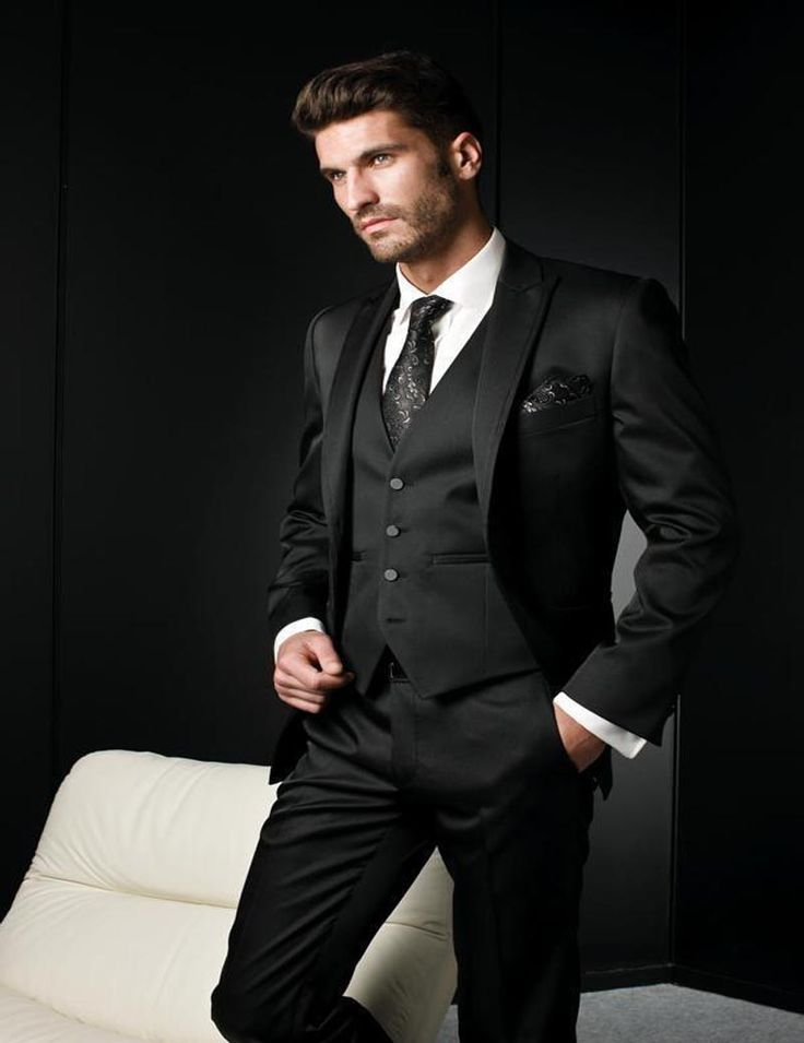 Find More Suits Information about 2017 Black Mens suits Tuxedos Business Suit Brand Boss Dress Suit For Men's Wedding Business (Jacket+Pants+Vest),High Quality suit cheap,China suit shapes Suppliers, Cheap dress suits for sale from Custom-made Men's Suit Store on Aliexpress.com