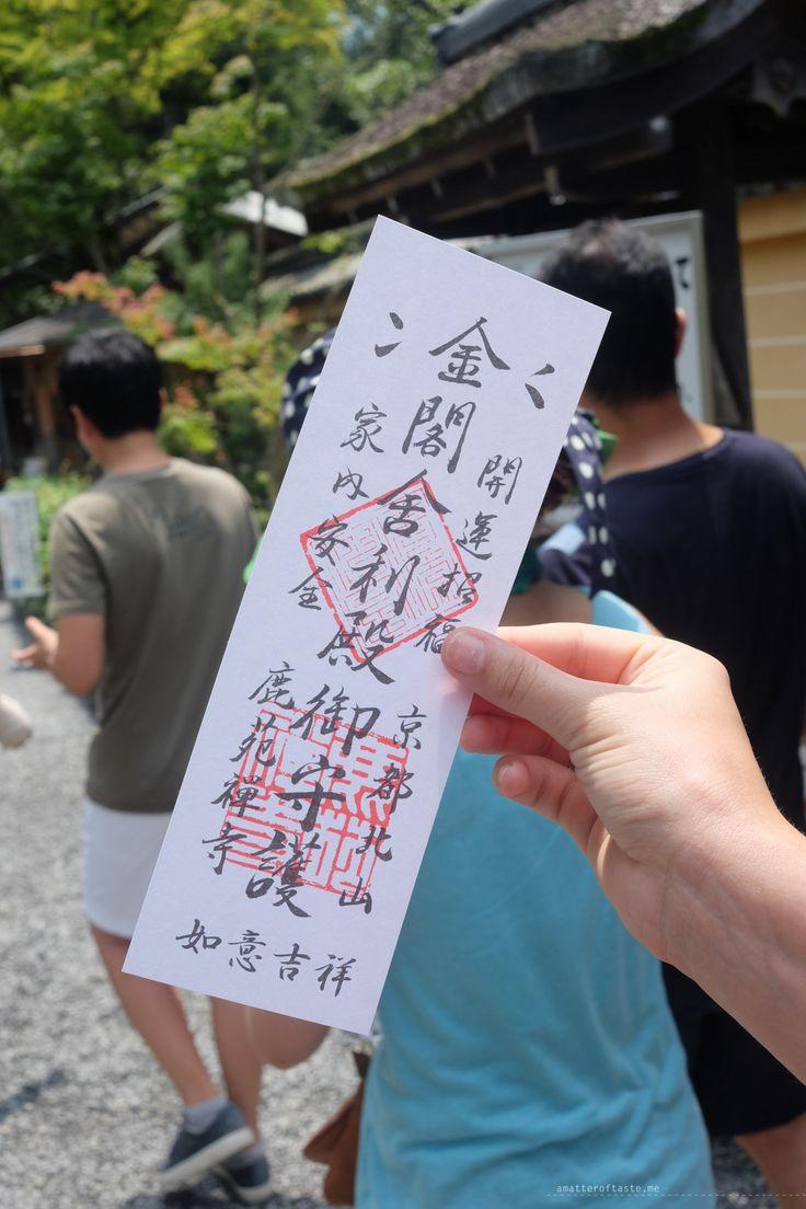 Kinkaku-ji Golden Pavillion Kyoto ticket