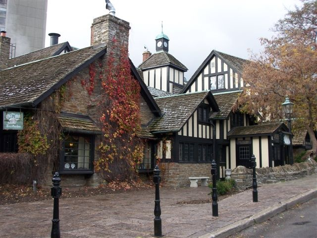 Historic Old Mill Inn & Spa near Bloor West Village.