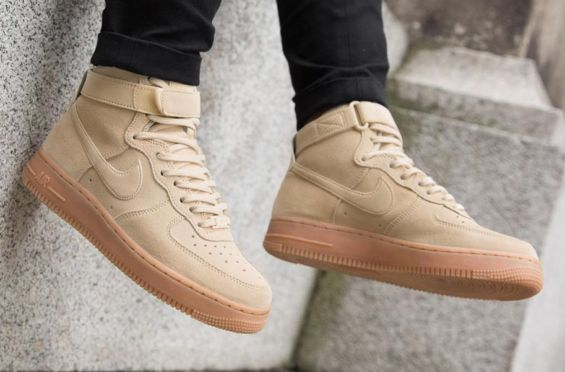 Now Available: Nike Air Force 1 High Ivory Gum
