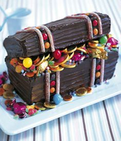 treasure chest cake                                                                                                                                                      More