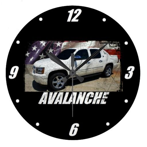2013 Avalanche LTZ Large Clock