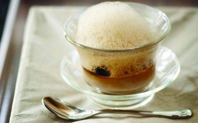 Alvin Leung's recipe for Shiitake Mushroom Cappuccino