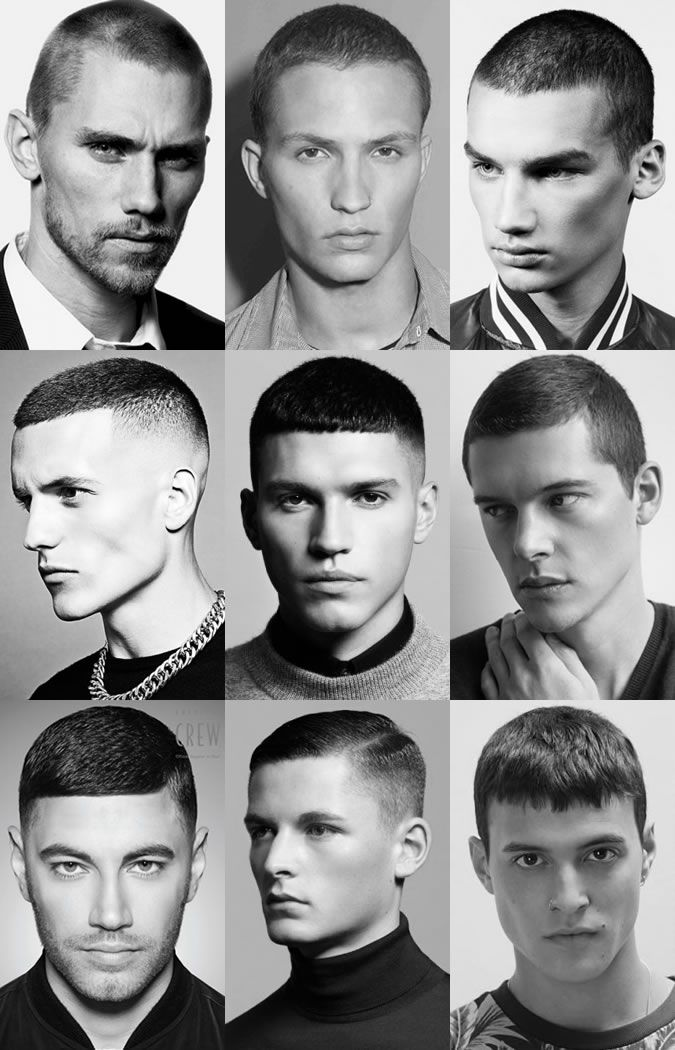 Popular Men's Hairstyles For 2015 Spring/Summer: The Buzz Cut Lookbook Inspiration