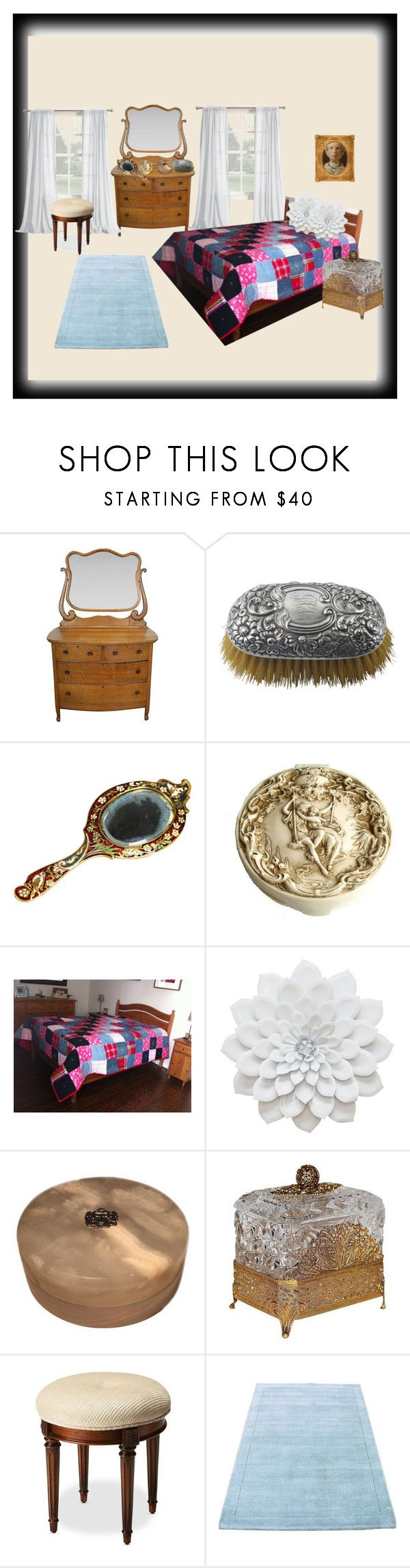 """""""Cozee Quilts"""" by charmedheartz on Polyvore featuring Gorham, Lilly Daché and Butler Specialty Company"""