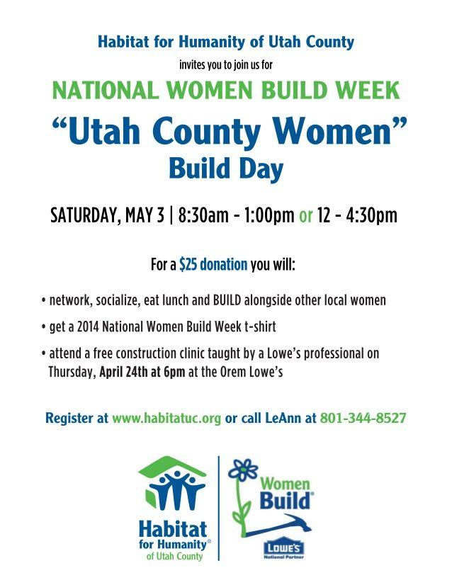 Women Build 2014 by Habitat Humanity via slideshare