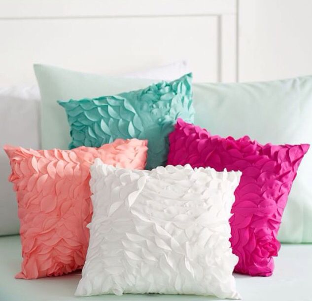 Decorative Pillows Pbteen : 10 best Pink blush bedding from beddys.com images on Pinterest Pbteen, Decorative pillows and ...