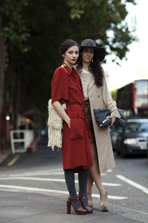 On the Street...The Strand, London (The Sartorialist)