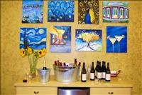 Painting with a Twist --- Kennesaw, GA --- a Sip and Paint studio where you create your own masterpiece while you sip your favorite wine or beverage...