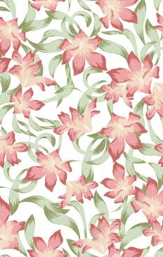 Bridesmaids Fabric Swatch ~  Lily Lady