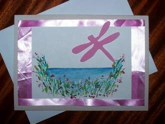 76 best handmade cards images on pinterest craft cards diy cards dragonfly card m4hsunfo