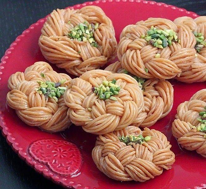 Mchabek - Griwech tressé ~ Cuisine Arabe
