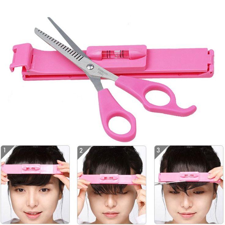 Chaude 1 Set Frange Cheveux Ciseaux À Effiler Cisailles Cut Barber Outils De Coiffure Ciseaux Clipper Ensemble Étrier Pour Filles Femmes Beauté
