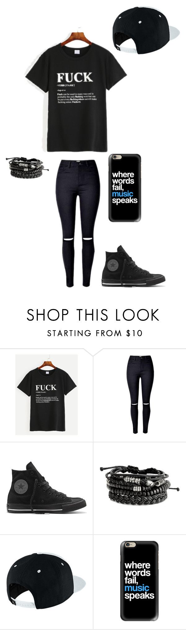 """""""Untitled #147"""" by darksoul7 on Polyvore featuring Converse, NIKE and Casetify"""