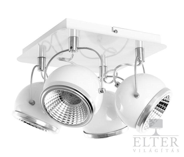 Lámpatípusok - Beltéri világítás - Mennyezeti lámpa - Spot Light Ball 4-es spot lámpa