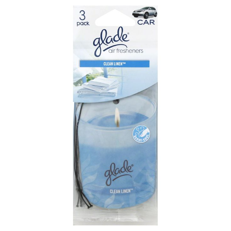 Glade Air Freshener Clean Linen 3 Pack   Great For Closet!
