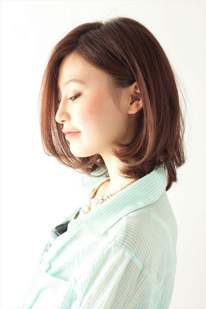 【MINX】ステキ女子のツヤカールボブで 上戸彩さん風の髪型に! | 銀座の美容室 Darling Premium MINX ginzaのヘアスタイル | Rasysa(らしさ)