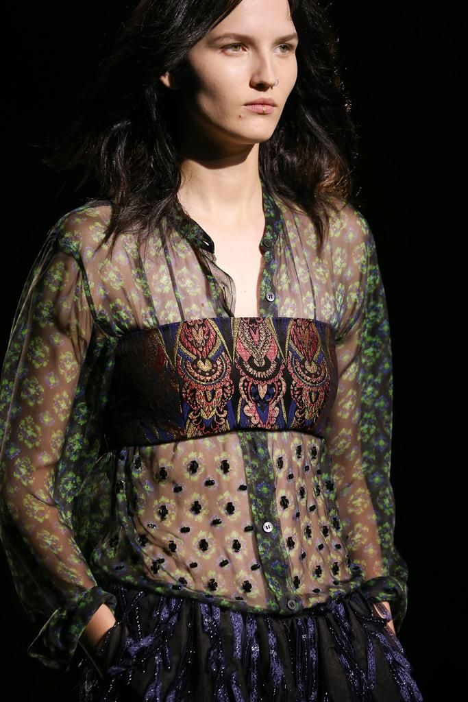 Dries Van Noten Spring Summer 2015 Ready-to-Wear Collections.