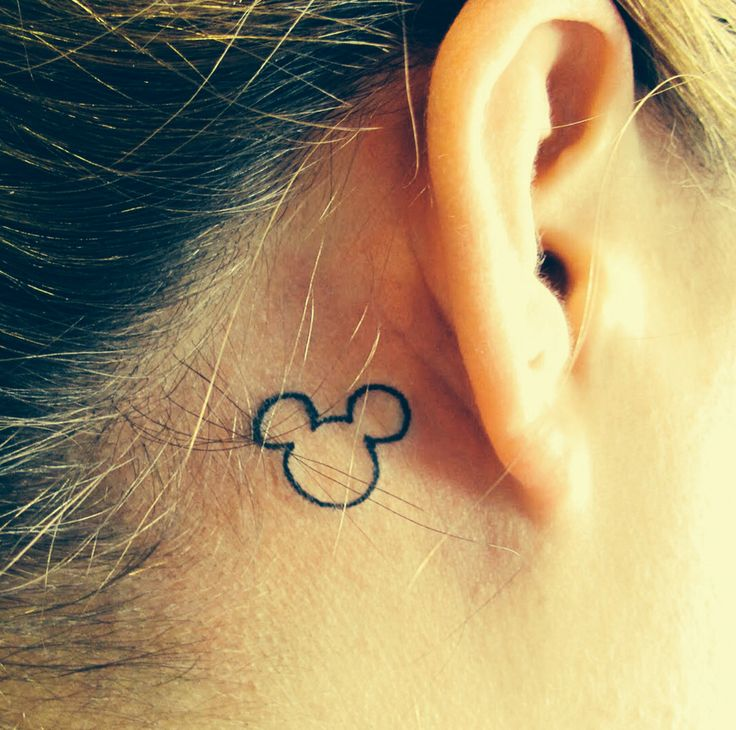 Tattoo Ideas Hidden: Hidden Mickey Tattoo