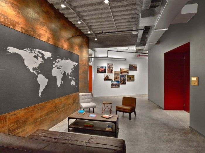Tough Mudder Office inside tough mudder's headquarters / m moser associates | tough