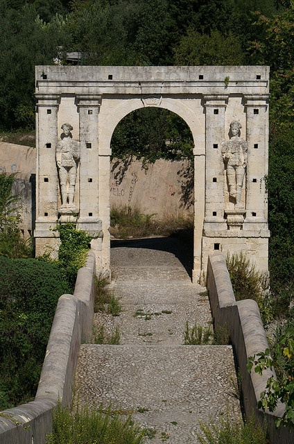 Canicattini Bagni, Ponte San Alfano by Salvatore Brancati.