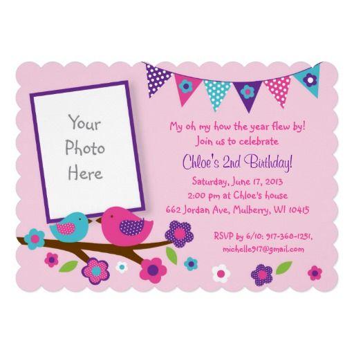 48 best Spring Bird Baby Shower images on Pinterest Lyrics, Text - best of birthday invitation text message