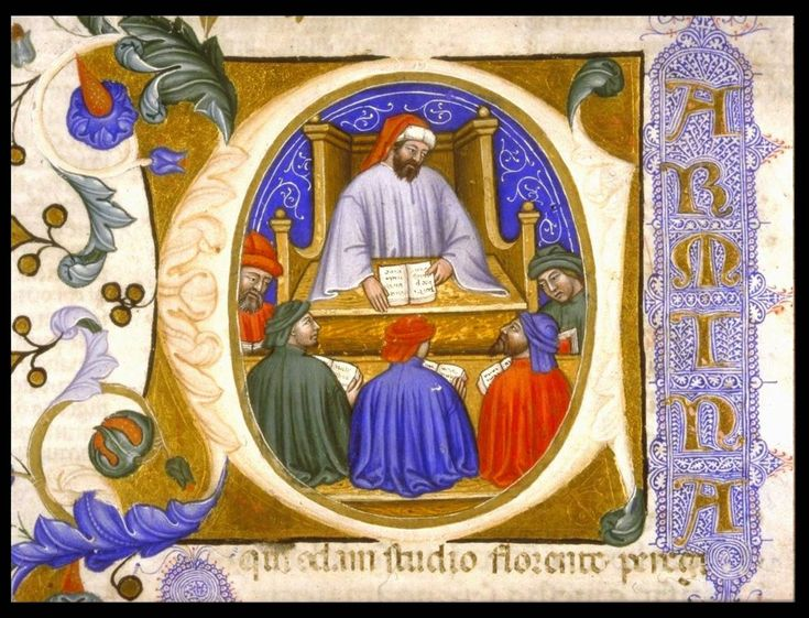 The aesthetics of the Middle Ages take up the principles of Neoplatonism by relating them to the theological model of Christianity. It is considered then that in artistic creation a creative dignity, comparable to the divine creation, is distilled. Art is a means of transcendence towards the intelligible.
