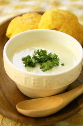 旬の美味しさ♪カリフラワーのポタージュ by うさぎのシーマ [クックパッド] 簡単おいしいみんなのレシピが262万品