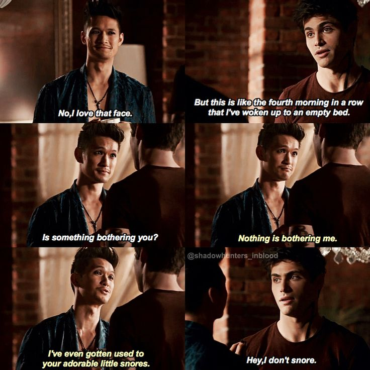 """128 To se mi líbí, 1 komentářů – Shadowhunters➰ (@shadowhunters_inblood) na Instagramu: """"I LOVE THEM SFMM THEY ARE SO CUTE OMG And now we know this isn't a flashback and I'm happy it's…"""""""