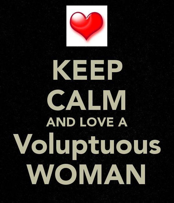 Voluptuous woman