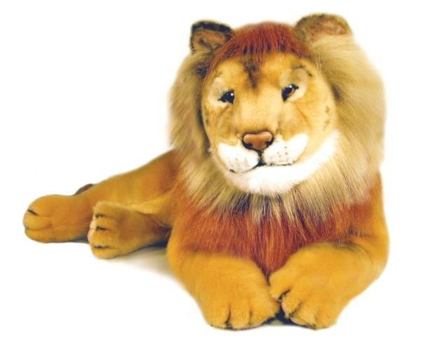 Lion plush toy-Leon