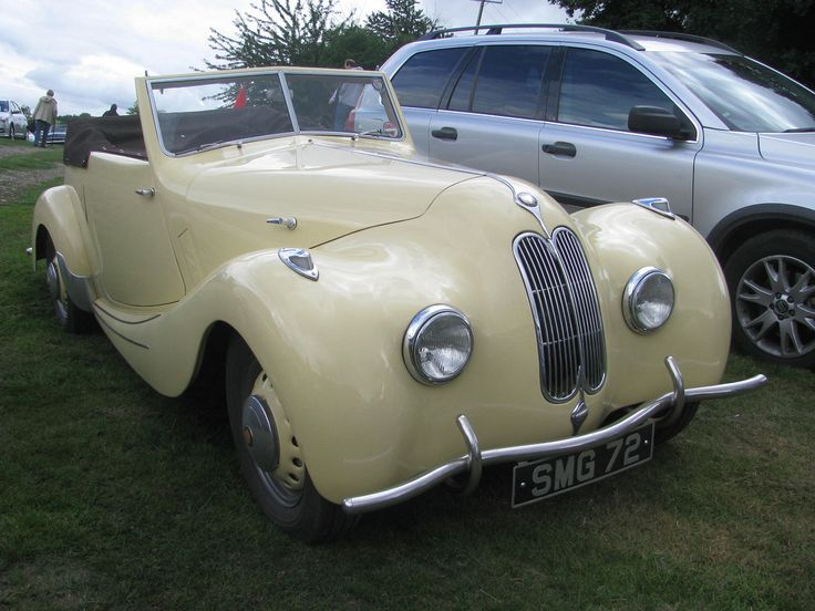 | 1947 Bristol 400 Convertible | I believe this is a very rare factory 400 convertible, just one of two built, and was displayed on Bristol's stand at the 1947 Geneva Motor Show. Early 400 bumpers.