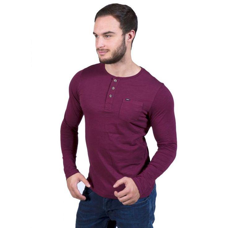 O'NEILL Ανδρική μακρυμάνικη slim fit φλάμα μπλούζα