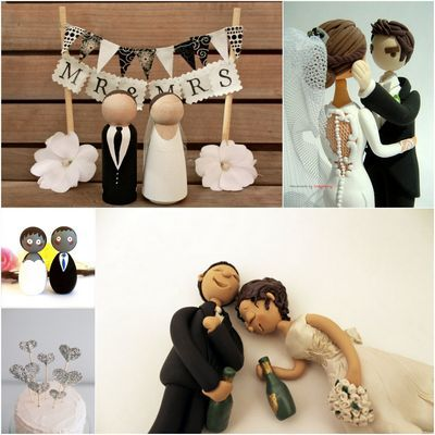 crazy wedding cake toppers 16 best wedding caketoppers images on 13047