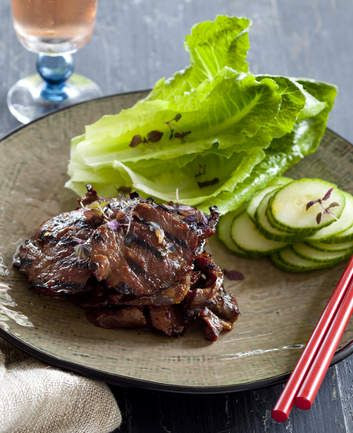 Flavour-packed Korean barbecued beef.
