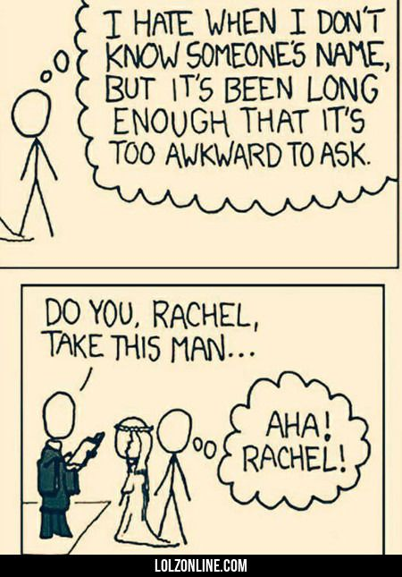 I Hate When I Don't Know Someone's Name #lol #haha #funny