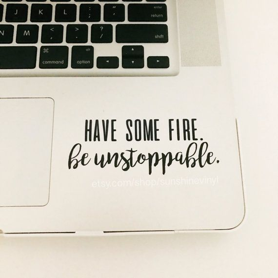 Have Some Fire Be Unstoppable Greys Anatomy Quote by SunshineVinyl