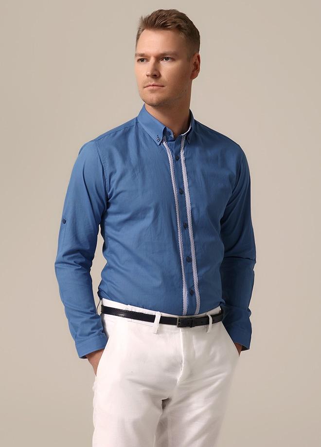 Cesur ve Güzel - Black Art Gömlek Markafoni'de 94,99 TL yerine 39,99 TL! Satın almak için: http://www.markafoni.com/product/3758971/